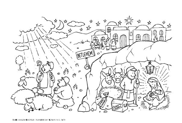 Ausmalbilder Für Kinder Katholischer Familienverband Südtirol