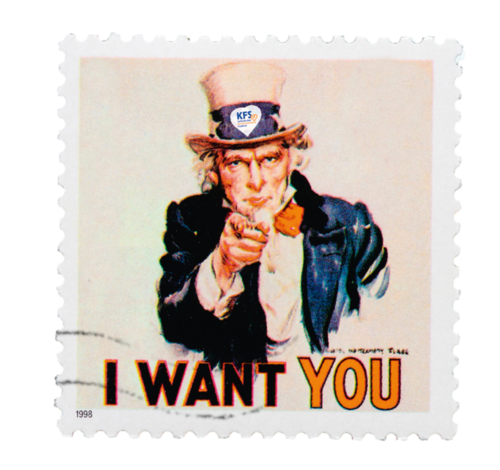 I want you for KFS