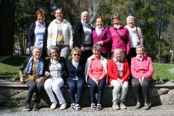Die Teilnehmerinnen der KFS-Erholungswoche Urlaub von der Pflege