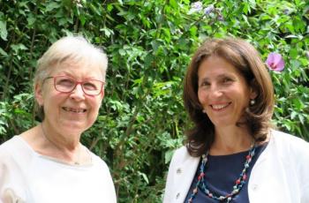 Angelika Mitterrutzner und Christa Ladurner